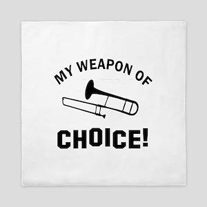 Trombone Weapon Of Choice Queen Duvet