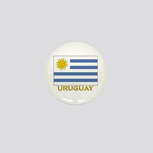 Uruguay Flag Stuff Mini Button