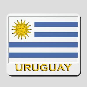 Uruguay Flag Stuff Mousepad