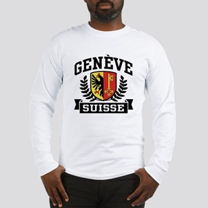 Geneve Suisse Long Sleeve T-Shirt