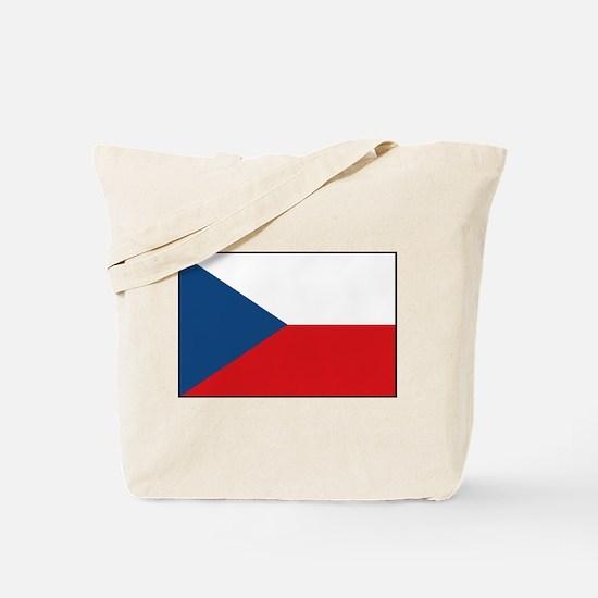 Czech Republic - National Flag - Current Tote Bag