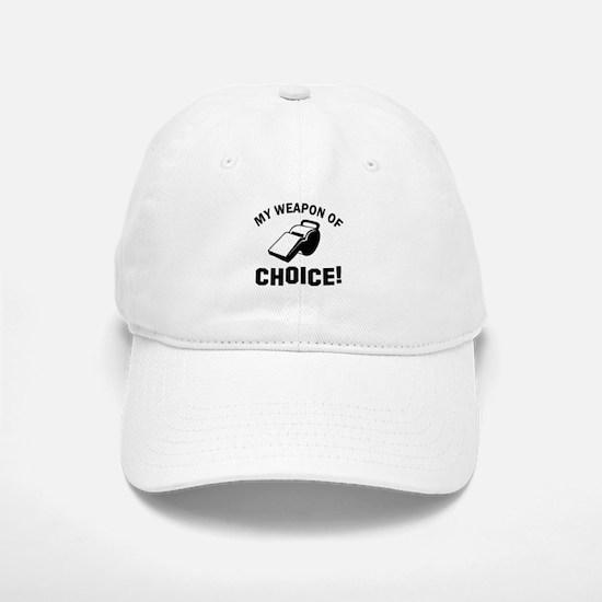 Referee designs Baseball Baseball Cap