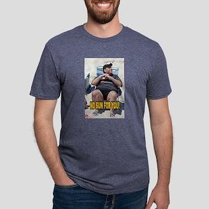 NO SUN FOR YOU! Mens Tri-blend T-Shirt