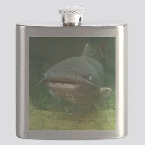 Curious Catfish Flask