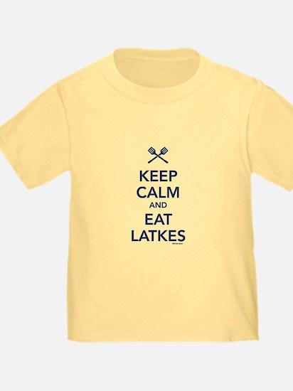 Keep Calm and Eat Latkes T