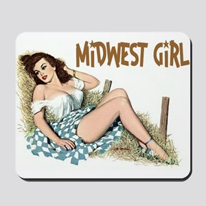Midwest Girl Mousepad