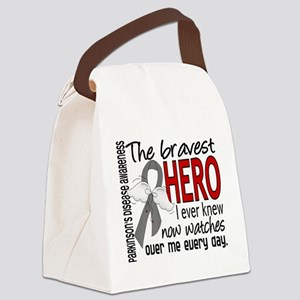 Bravest Hero I Knew Parkinsons Canvas Lunch Bag