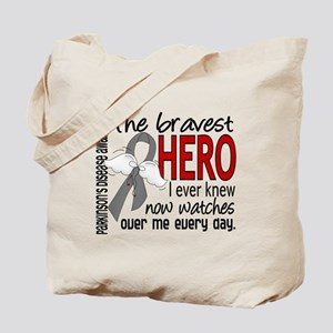 Bravest Hero I Knew Parkinsons Tote Bag