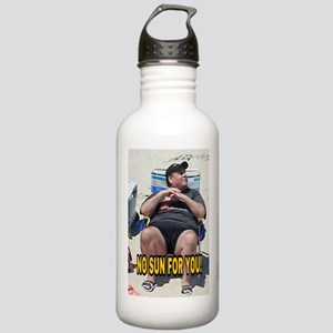 NO SUN FOR YOU! Stainless Water Bottle 1.0L