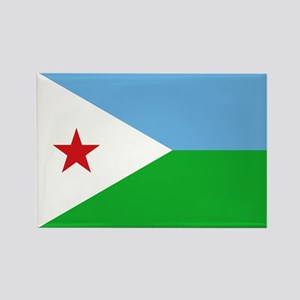 Djibouti - National Flag - Current Magnets