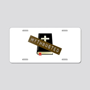 Mythbusted Aluminum License Plate