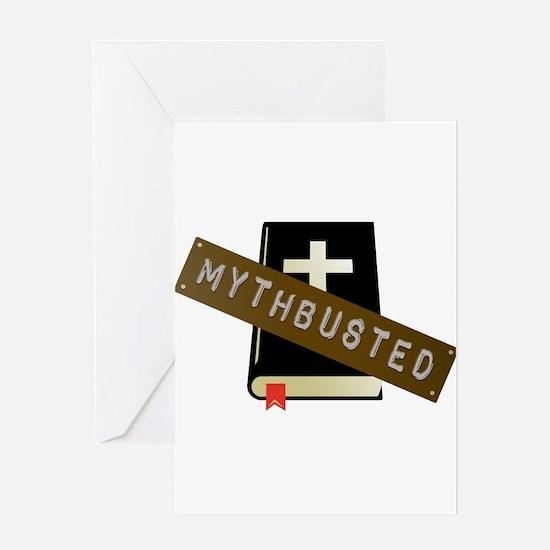 Mythbusted Greeting Card