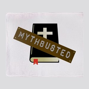 Mythbusted Throw Blanket