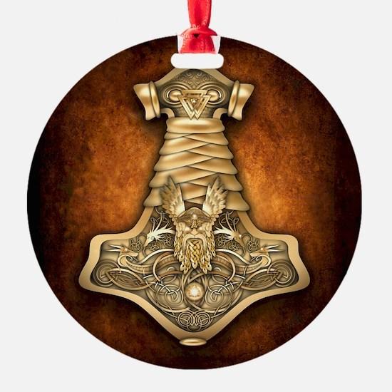 Mjolnir - Thors Hammer Ornament
