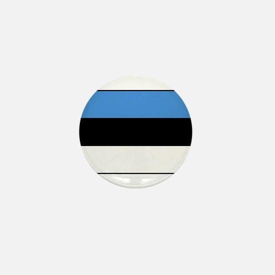 Estonia - National Flag - Current Mini Button