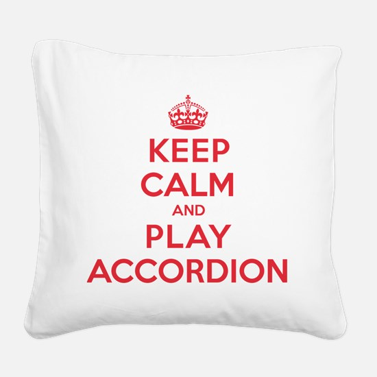 K C Play Accordion Square Canvas Pillow