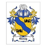 Gloag Coat of Arms Small Poster
