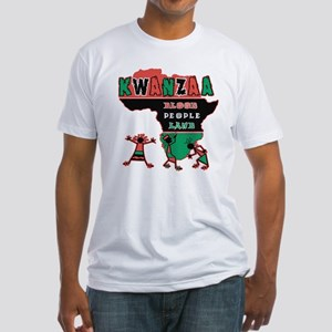 Kwanzaa Fitted T-Shirt