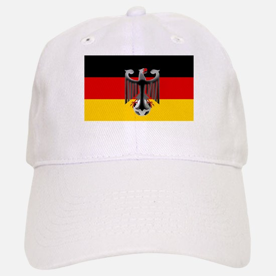 German Soccer Flag Baseball Baseball Cap