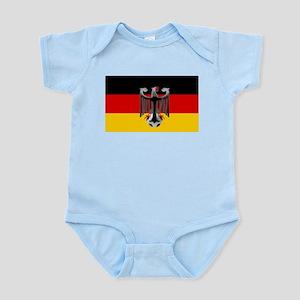 German Soccer Flag Infant Bodysuit
