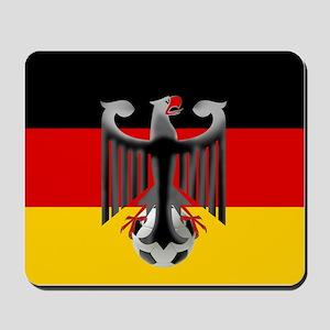 German Soccer Flag Mousepad