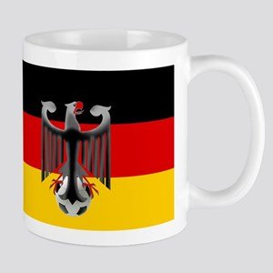 German Soccer Flag Mug