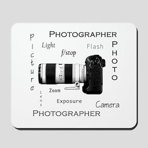Photographer-Definitions-DSLR Mousepad