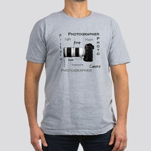 Photographer-Definitions-DSLR Men's Fitted T-S