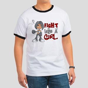 Fight Like a Girl 42.8 Parkinson's Ringer T