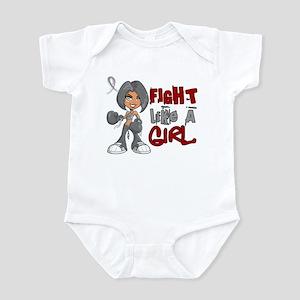 Fight Like a Girl 42.8 Parkinson's Infant Bodysuit