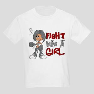 Fight Like a Girl 42.8 Parkinson's Kids Light T-Sh