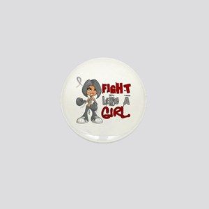 Fight Like a Girl 42.8 Parkinson's Mini Button