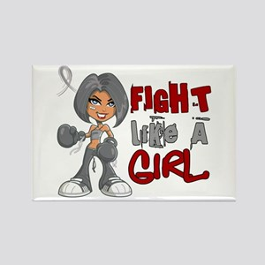 Fight Like a Girl 42.8 Parkinson's Rectangle Magne