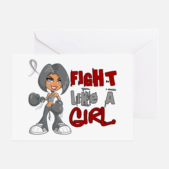 Fight Like a Girl 42.8 Parkinson's Greeting Card