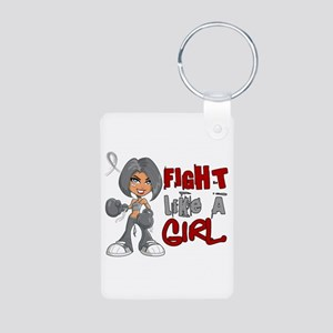 Fight Like a Girl 42.8 Parkinson's Aluminum Photo