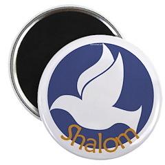 Shalom Dove Magnet