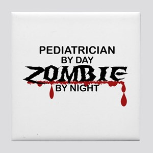 Pediatrician Zombie Tile Coaster