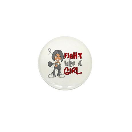 Fight Like a Girl 42.8 Juv Diabetes Mini Button