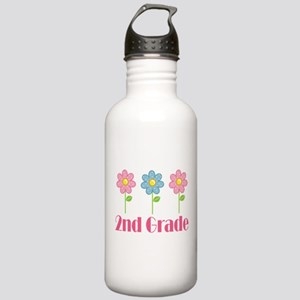 2nd Grade (Daisy) Stainless Water Bottle 1.0L