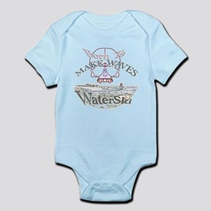 Water ski Infant Bodysuit