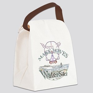 Water ski Canvas Lunch Bag