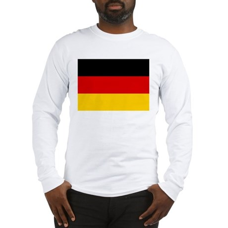 Flag of Germany Long Sleeve T-Shirt