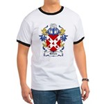 Gillon Coat of Arms Ringer T