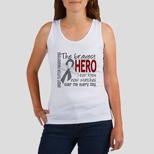 Bravest Hero I Knew Brain Tumor Women's Tank Top