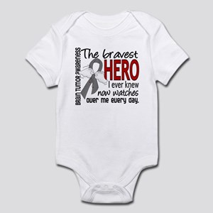 Bravest Hero I Knew Brain Tumor Infant Bodysuit
