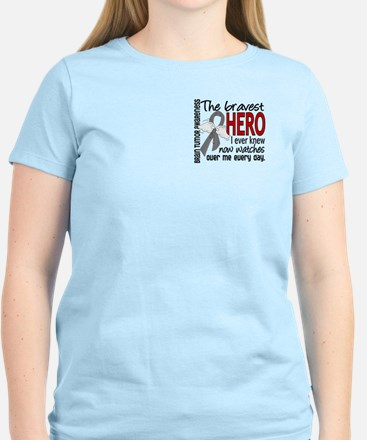 Bravest Hero I Knew Brain Tumor Women's Light T-Sh