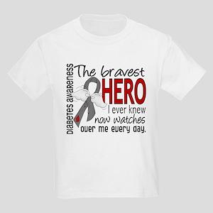Bravest Hero I Knew Diabetes Kids Light T-Shirt