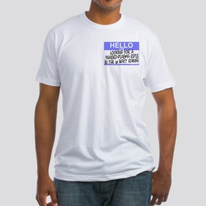 Plasma Rifle Small Hello Fitted T-Shirt