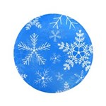 Blue and White Snowflake Pattern 3.5