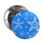 Blue and White Snowflake Pattern 2.25